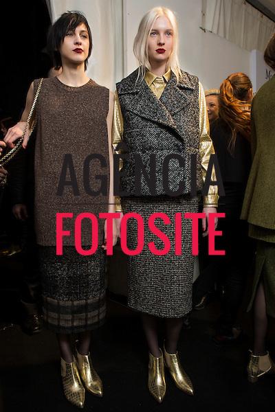 Milao, Italia &ndash; 02/2014 - Desfile de Max Mara durante a Semana de moda de Milao - Inverno 2014. <br /> Foto: FOTOSITE