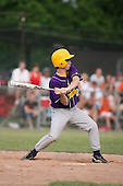 Tim Penders of the Pavilion Golden Gophers during the Section V Class-C crossover game against the Keshequa Indians on June 3, 2007.  (Copyright Mike Janes Photography)