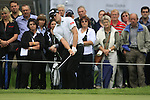 Gary Boyd (ENG) chips onto the 9th green during Day 1 of the BMW International Open at Golf Club Munchen Eichenried, Germany, 23rd June 2011 (Photo Eoin Clarke/www.golffile.ie)