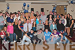 SURPRISE 21ST: Gary Kissane of Monavalley (seated 4th from right) got a big surprise when a big crowd of family and friends gathered to celebrate his 21ST birthday at Kerin O'Rahilly's G.A.A. club last Saturday night.   Copyright Kerry's Eye 2008