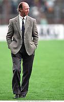 17th October 1990, Dublin, Republic of Ireland; JACK CHARLTON (Eire Manager) at the international football match;  EIRE versus Turkey in Dublin