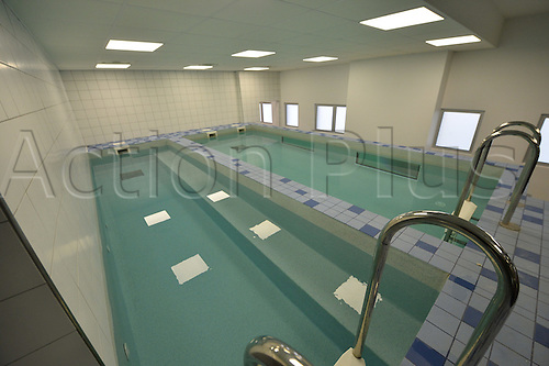 08.04.2016. Marcoussis, Paris, France. Euro 2016 Football hotel and training base for the Portuguese national mens football team. Indoor lap pools