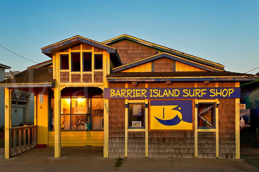 Surf shop, Nags Head, South Carolina, USA