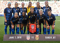 USWNT vs China PR, June 7, 2018