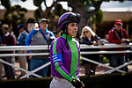 MAR 07: Kassie Guglielmino before the San Felipe Stakes at Santa Anita Park in Arcadia, California on March 7, 2020. Evers/Eclipse Sportswire/CSM