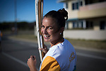 Batonbearer Jayde Taylor carrying the Baton as the Queen's Baton Relay visited Rockingham. From 25 January to 2 March 2018, the Queen's Baton will visit every other state and territory before Queensland. As the Queen's Baton Relay travels the length and breadth of Australia, it will not just pass through, but spend quality time in each community it visits, calling into hundreds of local schools and community celebrations in every state and territory. The Gold Coast 2018 Commonwealth Games (GC2018) Queen's Baton Relay is the longest and most accessible in history, travelling through the Commonwealth for 388 days and 230,000 kilometres. After spending 100 days being carried by approximately 3,800 batonbearers in Australia, the Queen's Baton journey will finish at the GC2018 Opening Ceremony on the Gold Coast on 4 April 2018.