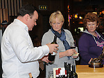 Wine tasting at the 'Taste of Togher' festival at Linn Duchaill restaurant in the Glyde Inn Annagassan. Photo: Colin Bell/pressphotos.ie