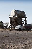Old tanker truck