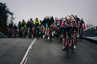 Maxime Monfort (BEL/Lotto-Soudal)<br /> <br /> 51th Le Samyn 2019 <br /> Quaregnon to Dour (BEL): 200km<br /> <br /> ©kramon