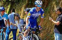 LA UNION - COLOMBIA, 16-02-2019: Julian ALAPHILIPPE (FRA), Deceuninck - Quick Step Floors, durante la quinta etapa del Tour Colombia 2.1 2019 con un recorrido de 176.8 Km, que se corrió con salida y llegada en La Union, Antioquia. / Julian ALAPHILIPPE (FRA), Deceuninck - Quick Step Floors, during the fifth stage of 176.8 km of Tour Colombia 2.1 2019 that ran with start and arrival in La Union, Antioquia.  Photo: VizzorImage / Anderson Bonilla / Cont