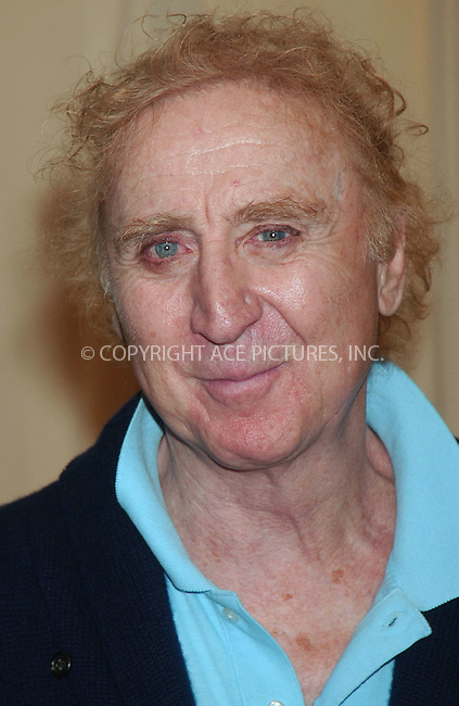 "WWW.ACEPIXS.COM . . . . .....March 15 2007, New York City....Veteran actor Gene Wilder attended a book-signing for his new book ""My French Whore"" at Barnes & Noble...  ....Please byline: Kristin Callahan - ACEPIXS.COM..... *** ***..Ace Pictures, Inc:  ..Philip Vaughan (646) 769 0430..e-mail: info@acepixs.com..web: http://www.acepixs.com"