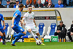 11.05.2019, PreZero Dual Arena, Sinsheim, GER, 1. FBL, TSG 1899 Hoffenheim vs. SV Werder Bremen, <br /> <br /> DFL REGULATIONS PROHIBIT ANY USE OF PHOTOGRAPHS AS IMAGE SEQUENCES AND/OR QUASI-VIDEO.<br /> <br /> im Bild: Kevin M&ouml;hwald / Moehwald / Mohwald (SV Werder Bremen #6) gegen Ermin Bicakcic (TSG Hoffenheim #4)<br /> <br /> Foto &copy; nordphoto / Fabisch