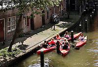 kano's in de gracht in Utrecht