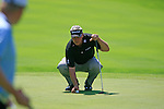 Darren Clarke (NIR) lines up his putt on the 5th green during Day 3 of the BMW Italian Open at Royal Park I Roveri, Turin, Italy, 11th June 2011 (Photo Eoin Clarke/Golffile 2011)