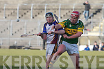 Kerry's Sean Maunsell and UL's Lester Ryan.