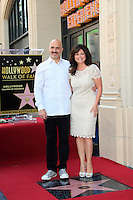 LOS ANGELES - AUG 22: Valerie Bertinelli, husband Tom Vitale at a ceremony where Valerie Bertinelli is honored with a star on the Hollywood Walk of Fame on August 22, 2012 in Los Angeles, California