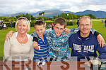 Janet, Robbie, Sean and Alan Hales Killarney enjoying a family day out at the Killarney Races on Tuesday