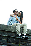 Zina and  Dmitry's Engagement Photo Shoot in Westchester's Rockefeller Preserve State Park