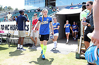 Cary, North Carolina  - Saturday June 03, 2017: Catherine Parkhill prior to a regular season National Women's Soccer League (NWSL) match between the North Carolina Courage and the FC Kansas City at Sahlen's Stadium at WakeMed Soccer Park. The Courage won the game 2-0.
