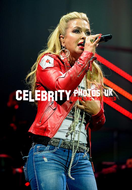 Anastacia live at the London  Palladium 2nd May 2016
