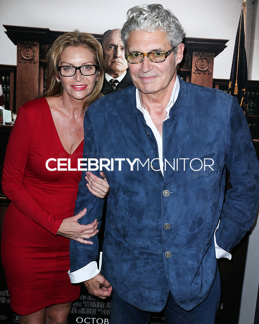 BEVERLY HILLS, CA, USA - OCTOBER 01: Michael Nouri arrives at the Los Angeles Premiere Of Warner Bros. Pictures And Village Roadshow Pictures' 'The Judge' held at the Samuel Goldwyn Theatre at The Academy of Motion Picture Arts and Sciences on October 1, 2014 in Beverly Hills, California, United States. (Photo by Xavier Collin/Celebrity Monitor)