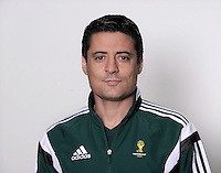 FUSSBALL Fototermin FIFA WM Schiedsrichter  09.04.2014 Alireza FAGHANI (Iran)