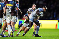 Semesa Rokoduguni of Bath Rugby takes on the Harlequins defence. Aviva Premiership match, between Harlequins and Bath Rugby on November 27, 2016 at the Twickenham Stoop in London, England. Photo by: Patrick Khachfe / Onside Images