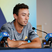 2nd January 2020; RAC Arena , Perth, Western Australia, Australia; ATP Cup Team Press conferences, Japan; Ben McLachlan of Japan speaks at the team press conference - Editorial Use