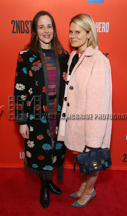 "Maria Dizza and Celia Keenan-Bolger attending the Broadway Opening Night Performance of  ""Lobby Hero"" at The Hayes Theatre on March 26, 2018 in New York City."