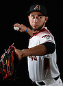 Arizona Diamondbacks Silvino Bracho (61) during photo day on February 28, 2016 in Scottsdale, AZ.