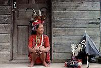 Ifugao women near Banaue,Philippines circa 1990