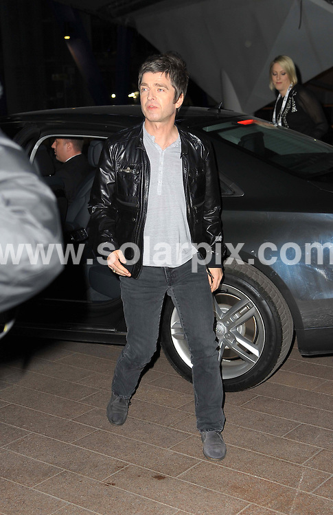 **ALL ROUND PICTURES FROM SOLARPIX.COM**                                             **WORLDWIDE SYNDICATION RIGHTS**                                                                                  Stars arrive at London's O2 Arena for the 2012 Brit Awards..This pic:   Noel Gallagher                                      .JOB REF:    14495   MSR     DATE:   22.02.12                                                         **MUST CREDIT SOLARPIX.COM OR DOUBLE FEE WILL BE CHARGED**                                                                      **MUST AGREE FEE BEFORE ONLINE USAGE**                               **CALL US ON: +34 952 811 768 or LOW RATE FROM UK 0844 617 7637**