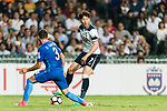 Tottenham Hotspur Forward Heung-Min Son (R) dribles SC Kitchee Defender Daniel Cancela Rodriguez (L) during the Friendly match between Kitchee SC and Tottenham Hotspur FC at Hong Kong Stadium on May 26, 2017 in So Kon Po, Hong Kong. Photo by Man yuen Li  / Power Sport Images