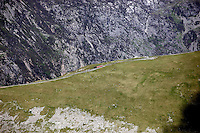 Snowdonia Mountain Railway en route to the top<br />