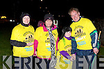 Bridie, Pat, Ria Harrington with Breda Fitzmaurice Ballyheigue who participated in the Darkness into Light walk in aid of Pieta House in Killarney on Saturday morning