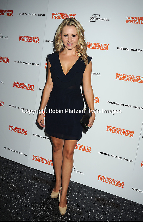 "Beverly Mitchell attending a special screening of ""Machine Gun Preacher"" at the Museum of Modern Art on September 13, 2011 in New York City. The movie stars Gerard Butler and Michelle Monaghan..."