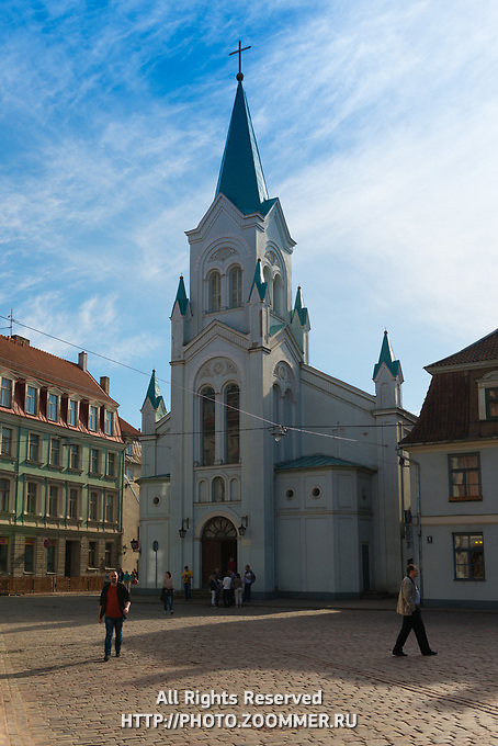 Our Lady of Sorrows Church, Riga, Latvia