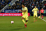 Leganes vs Villarreal Carlos Bacca running during Copa del Rey match. 20180104.