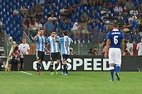 Argentina beats Italy 2-1 during the international friendly between Italy vs Argentina at Stadio Olimpico, in Rome, on August 14, 2013 in Rome. In the photo: Gonzalo Higuain Argentina. Photo: Adamo Di Loreto/BuenaVista*photo