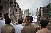 Dhaka 13-16 May 2013 Bangladesh<br /><br />(Photo by Filip Cwik / Napo Images)<br /><br />Dhaka 13-16 maj 2013 Bangladesz<br />Miejsce katastrofy fabryki odziezy w Rana Plaza <br />(fot. Filip Cwik / Napo Images)