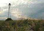 Windmill in a field near Manfield Washington