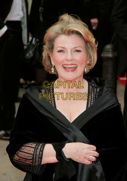 BRENDA BLETHYN.Red Carpet Arrivals at The British Academy Television Awards (BAFTA's) Sponsored by Pioneer, held at the London Palladium, London, England, May 20th 2007. .half length black dress wrap.CAP/AH.©Adam Houghton/Capital Pictures.