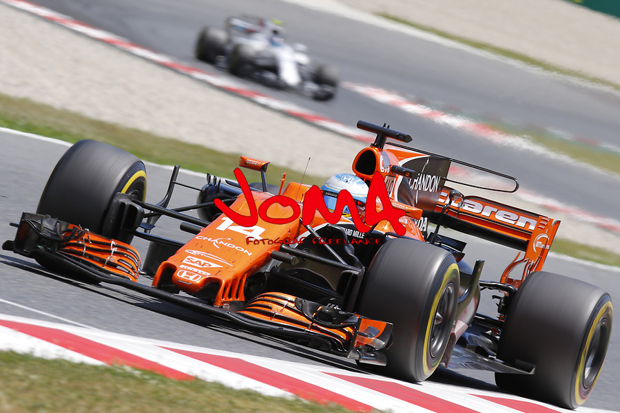 Fernando Alonso (ESP) Mclaren at  Formula 1, Spanish Grand Prix, Barcelona.