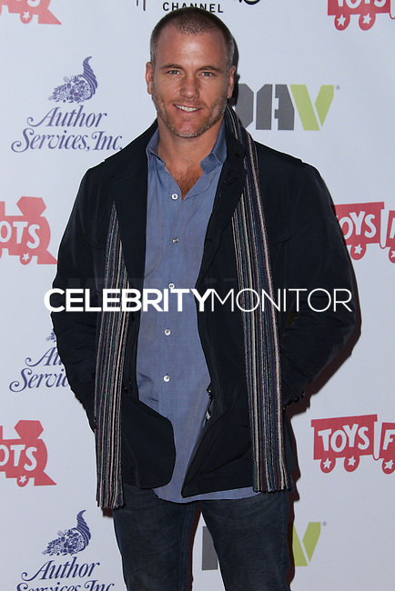 HOLLYWOOD, CA - DECEMBER 01: Sean Carrigan arriving at the 82nd Annual Hollywood Christmas Parade held at Hollywood Boulevard on December 1, 2013 in Hollywood, California. (Photo by Xavier Collin/Celebrity Monitor)