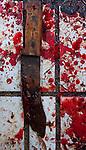 Butcher knife, Yuanyang, China