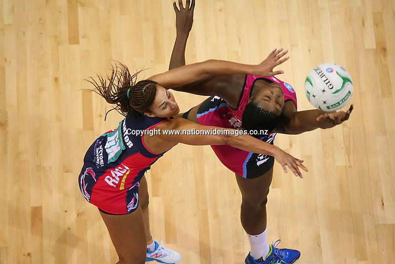 in the ANZ championship netball match, Steel v Vixens, ILT Stadium Southland, Invercargill, New Zealand, Saturday, May 31, 2014. Photo: Dianne Manson / www.nationwideimages.co.nz