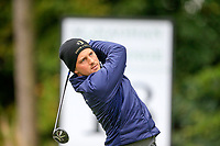 lucas Nemecz (AUT) during the final round of the Monaghan Irish Challenge, Concra Wood, Monaghan, Ireland. 7-10-2018.<br /> Picture Fran Caffrey / Golffile.ie<br /> <br /> All photo usage must carry mandatory copyright credit (&copy; Golffile | Fran Caffrey)