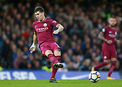 30th September 2017, Stamford Bridge, London, England; EPL Premier League football, Chelsea versus Manchester City; John Stones of Manchester City in action