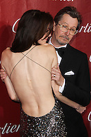 PALM SPRINGS, CA - JANUARY 04: Alexandra Edenborough, Gary Oldman arriving at the 25th Annual Palm Springs International Film Festival Awards Gala held at Palm Springs Convention Center on January 4, 2014 in Palm Springs, California. (Photo by Xavier Collin/Celebrity Monitor)