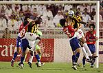 Al-Ittihad (KSA) vs Seongnam Ilhwa Chunma (KOR) during the 2004 AFC Champions League Final 1st leg match on 24 November 2004 at PAF Stadium, Jeddah, Saudi Arabia.